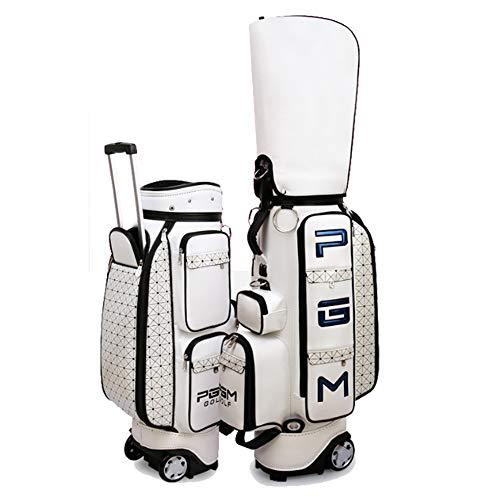 Golftaschenhalterung Standardtasche mit Riemenscheibe Große Kapazität Kleidungstasche Damen Team Trolley Mehrere Aufbewahrungstasche Set Travel