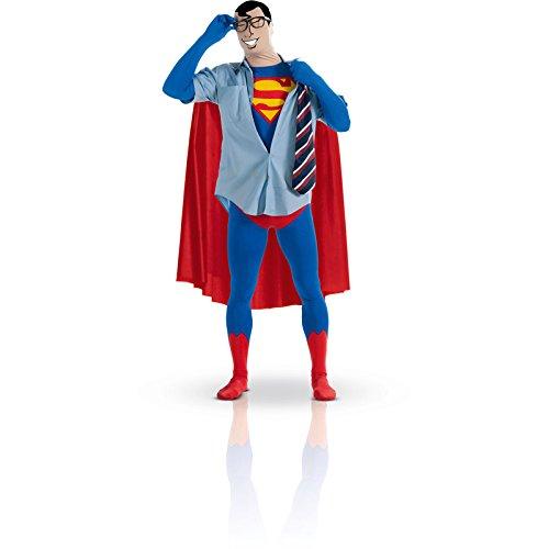 2nd Skin Superman Kostüm, Größe M (Halloween-league-skins)