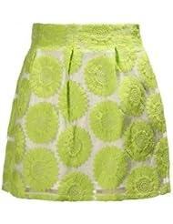 Bheema zanzea girasol, colores verde-Falda de una línea