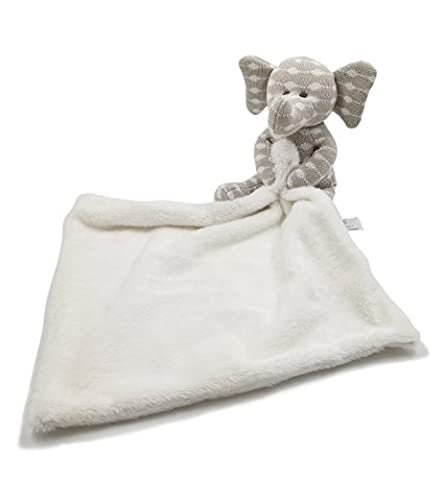 Kiyi-Gift Baby Comforter Toy | Cute Soft Elephant Plush Toys with Infant/Baby Soft Appease Towel