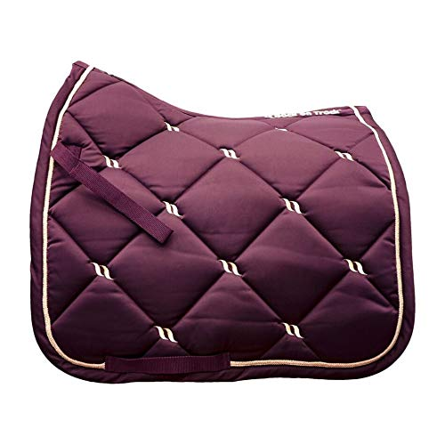 Back on Track® Welltex Nights Collection Saddle Pad Dressage Ruby Gr. Full