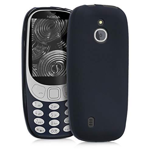 kwmobile Nokia 3310 3G 2017 / 4G 2018 Hülle - Handyhülle für Nokia 3310 3G 2017 / 4G 2018 - Handy Case in Schwarz matt