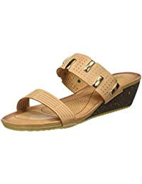 tresmode Women's Beige Fashion Sandals