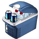 Futurepast Mini Kühlschrank Gefrierschrank, 8 Liter Kompressor-Kühlbox, Elektrische Kühlbox Gefrierbox, tragbare Auto Absorber-Kühlbox Für Auto Zuhause Büro Picknick im Freien