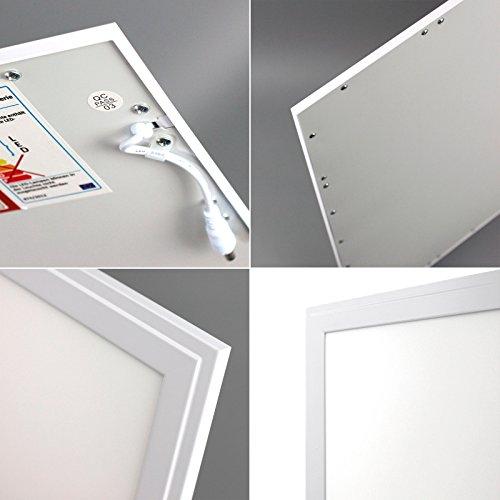 5x Xtend Ple2.0 LED Panel dimmbar 62×62 neutralweiß 40W ultraslim Rasterleuchte 1-10V dimmbar