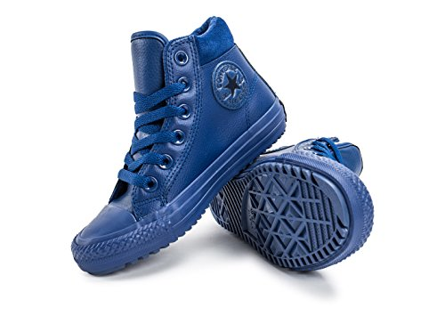 Pelle intemperie Nera Junior Chuck All Taylor Bleu Converse Star Stivaletti f6SYP
