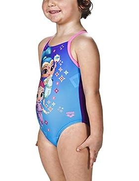 Arena ragazza Shimmer e Shine Disney Costume da bagno, Bambina, Shimmer und Shine Disney, turquoise-Mirtilla-paparazzi...