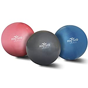 PhysioWorld Gymnastikball Pilates-Kugel 8″