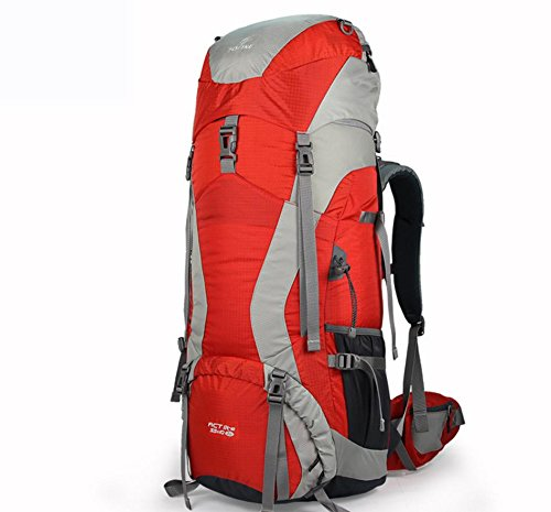 ROBAG Sport outdoor zaino spalla zaini nuovi nylon 45 + 10L 55 + 10L 65 + 10L aggiornamenti , green 45+10l red 65+10l
