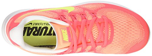 Nike Wmns Free Rn 2, Scarpe Running Donna Multicolore (Sunset Glow/volt-hot Punch-violet Dust)