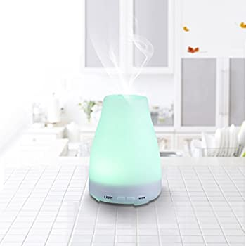 mini ultraschall luftbefeuchter duftzerst uber duft aroma diffuser mit 7 led farbwechsel. Black Bedroom Furniture Sets. Home Design Ideas