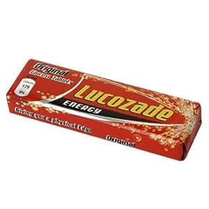 Lucozade Energy Tablets - Original Glucose One Size White