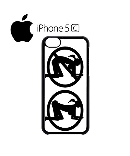 Doggy Style Sign Mobile Cell Phone Case Cover iPhone 5c Black Schwarz