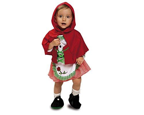 Imagen de my other me  disfraz de bebé caperucita para niña, 7 12 meses viving costumes 200692