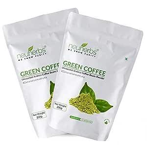 Buy Neuherbs Green Coffee Beans Powder For Weight Loss 200 G