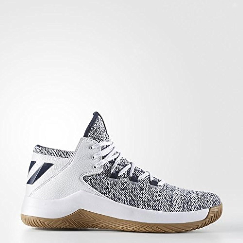 Adidas Rise Up, Zapatillas de Baloncesto para Hombre, Negro (Negro/(Negbas/Neguti/Ftwbla) 000), 42 EU