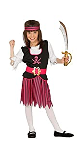 Guirca 83380 - Pirata Infantil Talla 7-9 Años