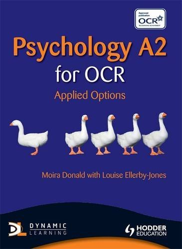 Psychology A2 for OCR: Applied Options