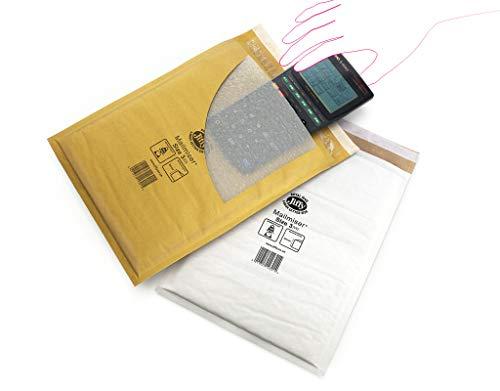 Mail Lite MLG E/2Gefüttert Versandtaschen, 220mm x 260mm, gold Bubble (100Stück)