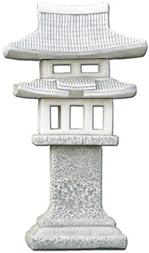 Énorme Maison de thé Temple Japonais Jardin en Pierre en Pierre, au Gel