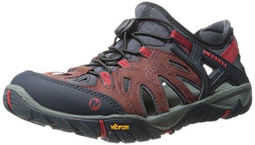 Merrell All Out Blaze Sieve, Herren Aqua Schuhe, Rot (Red), 47 EU