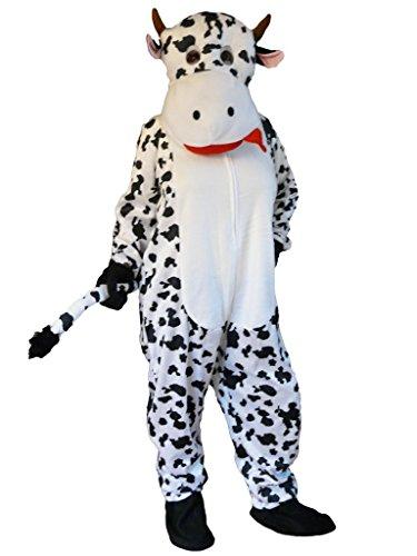 Kuh-Kostüm, Zo06/00 Gr. XL, Kuh-Kostüme für Männer und Frauen,Kühe als Gruppen-Kostüme,  Faschings-Kostüme für Fasching Karneval Fasnacht, Faschings-Kostüme, Geschenk Erwachsene