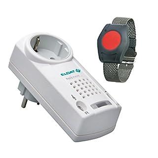 Pflegeruf-Set / Hausnotruf / Senioren-Hausalarm mit Funk-Armbandsender und QUITTIERUNGSFUNKTION
