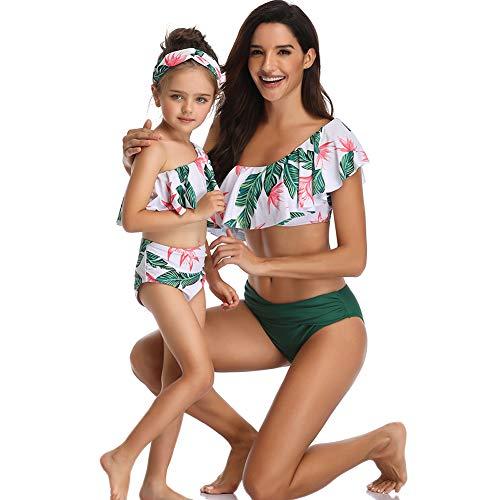 FeelinGirl Madre E Hija Bikini De Dos Piezas Floral
