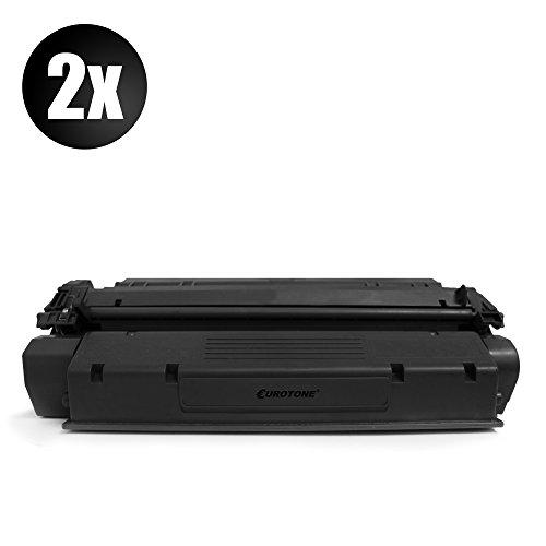 2x Rebuilt Toner für Canon Cartridge T für Canon Fax L380/ L390/ L400/ Faxphone L170/ Canon D320/ D340/ D383/ 510/ PC-D320/ PC-D340