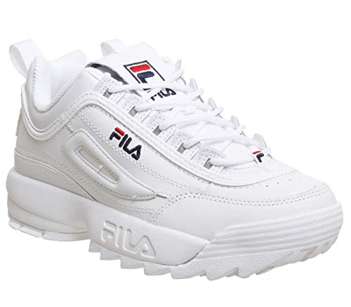0f517b492e3 Fila Disruptor II Premium Fille Baskets Mode Blanc