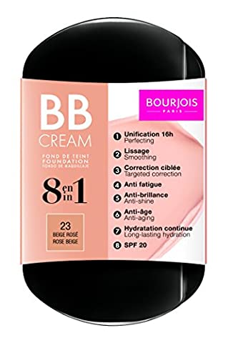 Bourjois 8 in 1 BB Cream Foundation 6g - 23 Rose Beige