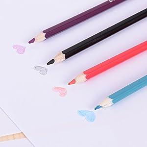 41Qhtb2Cb9L. SS300  - KKmoon-72-color-Premium-pre-sharpened-agua-soluble-en-agua-lpices-de-colores-Set-con-cepillo-para-nios-adultos-artista-arte-dibujo-escritura-arte-para-colorear-libros