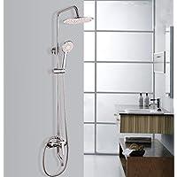 BY-Rame rubinetto doccia-vasca da bagno, moda tondo soffione, doccetta elegante, bagno di Alberghi di lusso