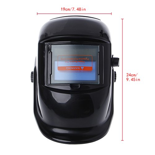 Weishazi Pro Solar Schweißhelm Maske mit automatischer Verdunkelung, Arc Tig Mig Schleifen Schweißkappe -