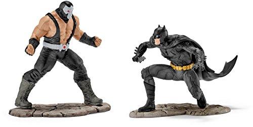 Schleich 22540 Spielfigur Batman Vs Bane, Mehrfarbig