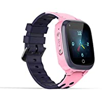 Sekyo GPS (AGPS/LBS) Smart Watch, Tracking Watch with Mobile Tracking, SOS, Calling Function for Kids Safety, S1-Pink