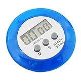 SODIAL(R) Temporizador de Cocina - Azul Digital Electronico Magnetico