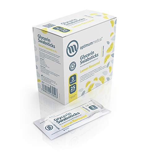 Swabsticks glicerina Optimum Medical: sabor limón