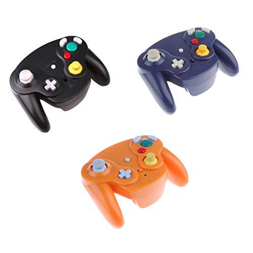 D dolity 3x Video-Spiele Kontrolle Wireless Gamepad für Nintendo GameCube/Wii/Wii U NGC (Nintendo Wii U Gamecube)