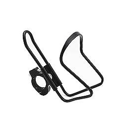 Idea Regalo - Bicycle Accessories Accessori per la modifica di auto elettriche moto Portabevande per biciclette, portabicchieri con portabicchieri con fibbia - LXZXZ (Colore : Black)