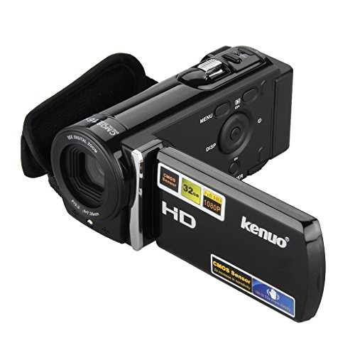 Express Panda® HD Flash Camcorder 1080P 16MP Digital 3.0TFT LCD 16x Zoom Mini DV Schwarz