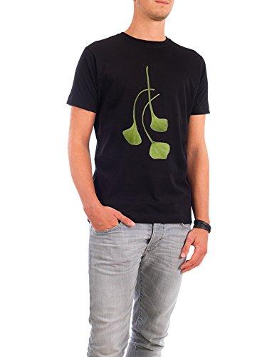 """Design T-Shirt Männer Continental Cotton """"Postelein"""" - stylisches Shirt Essen & Trinken von Tan Kadam Schwarz"""