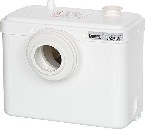 SFA SANIBROY Lomac Suverain 500-A Fäkalienhebeanlage WC Hebeanlage Hecksler Hebeanlagen