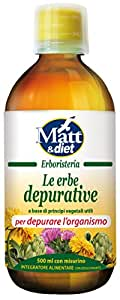 Matt&Diet Le Erbe Depurative - 500 ml