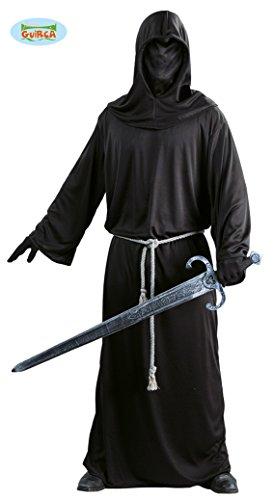 Dunkler Krieger Sensenmann Kostüm für Herren Gr. M/L, Größe:L