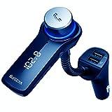 VicTsing Autoradio FM et chargeur USB 3,6 cm pour voiture