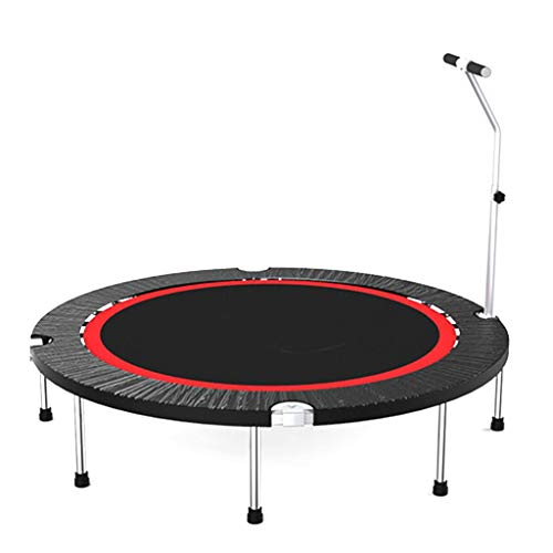 Trampoline Haushaltstrampolin mit Handlauf - Mini Kids Indoor/Garten/Workout Cardio, Unterstützung 18 Zoll / 50 Zoll gartentrampolin (größe : 48 inch)