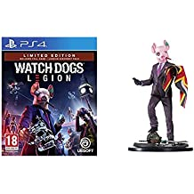 Watch Dogs Legion - Limited [Esclusiva Amazon] - PlayStation 4 + Resistance Of London Figurine - Limited