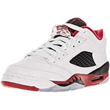 outlet store 34e50 09a17 Nike Air Jordan 5 Retro Low (GS), Scarpe da Basket Bambino