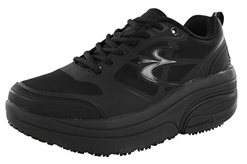 40a73e0238f06 GRAVITY DEFYER Men's G-Defy Ion Black Athletic Shoes 9.5 XW US Comfortable  Walking Shoes Plantar Fasciitis Shoes